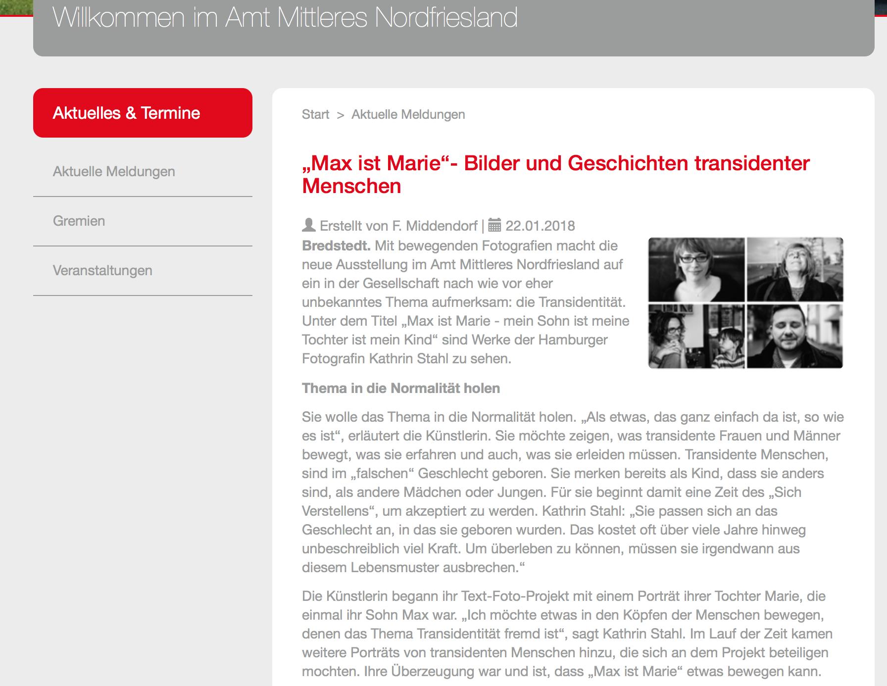 Transgender, Transsexuell, Projekt, Kathrin Stahl