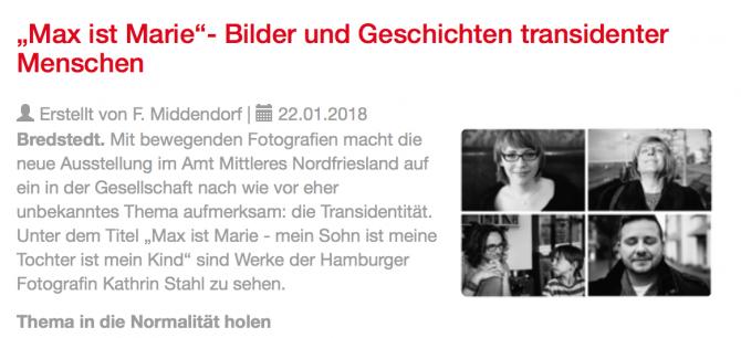 Trans, Transsexuell, Projekt, Kathrin Stahl