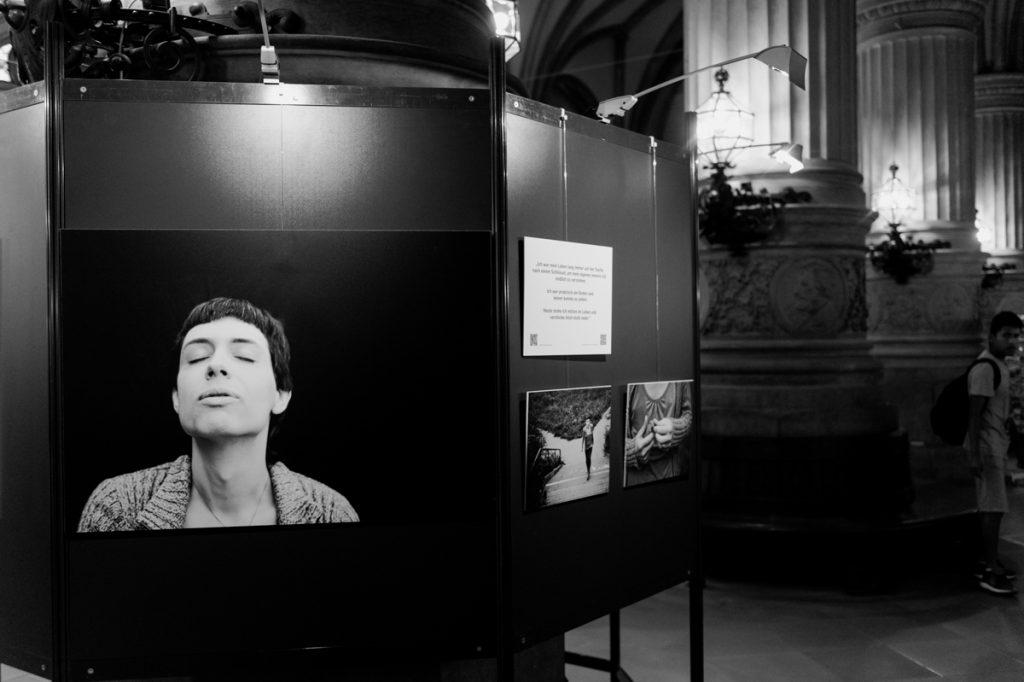 Exhibition, transgender, portraits, photo project